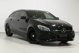 2016 Mercedes-Benz CLA250 Shooting Brake 117 MY17 4Matic Black 7 Speed Auto Dual Clutch Wagon.