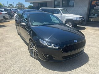 2016 Ford Falcon FG X XR6 Ute Super Cab Turbo Black 6 Speed Manual Utility.