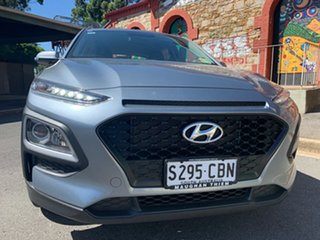2019 Hyundai Kona OS.2 MY19 Go 2WD Lake Silver 6 Speed Sports Automatic Wagon