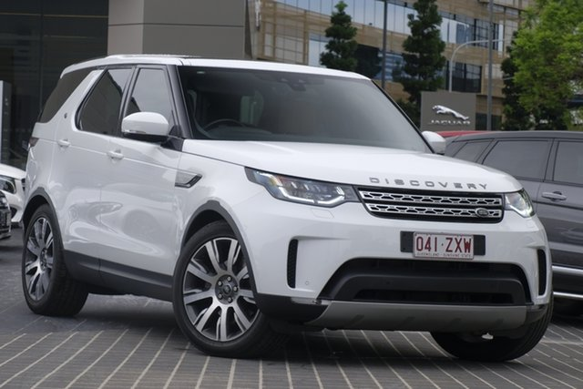 Used Land Rover Discovery Series 5 L462 MY18 HSE Newstead, 2017 Land Rover Discovery Series 5 L462 MY18 HSE Fuji White 8 Speed Sports Automatic Wagon