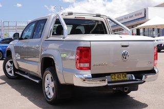 2011 Volkswagen Amarok 2H TDI400 4Motion Perm Ultimate Beige 6 Speed Manual Utility.