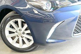 2016 Toyota Camry ASV50R Atara S Blue 6 Speed Sports Automatic Sedan.