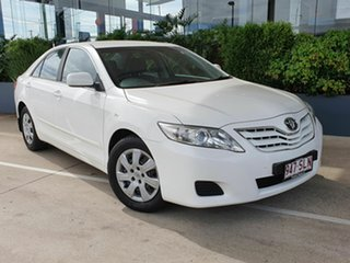 2010 Toyota Camry Altise White 4 Speed Automatic Sedan.
