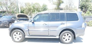 2006 Mitsubishi Pajero NP MY06 Exceed Grey 5 Speed Sports Automatic Wagon