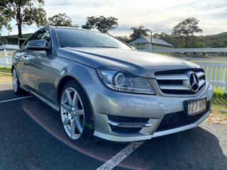 2015 Mercedes-Benz C-Class C204 C250 CDI 7G-Tronic Avantgarde Palladium Silver 7 Speed.