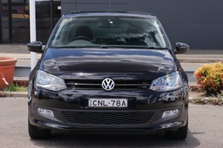 2013 Volkswagen Polo 6R MY13.5 77TSI Comfortline Black 6 Speed Manual Hatchback