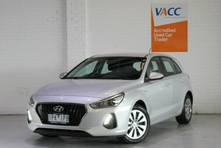 2019 Hyundai i30 PD MY19 Go Silver 6 Speed Sports Automatic Hatchback