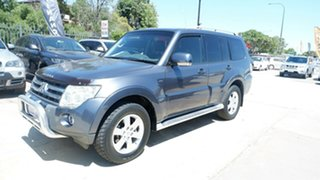 2006 Mitsubishi Pajero NP MY06 Exceed Grey 5 Speed Sports Automatic Wagon.