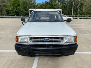 1998 Ford Courier XL White 5 Speed Manual Cab Chassis
