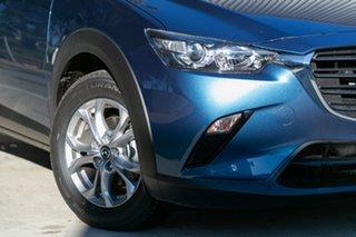 2020 Mazda CX-3 CX-3 E 6AUTO MAXX SPORT PETROL FWD Eternal Blue Wagon.