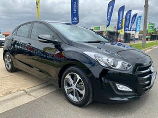 2015 Hyundai i30 GD3 Series II MY16 Active X Phantom Black 6 Speed Sports Automatic Hatchback