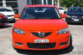 2007 Mazda 3 BK10F2 Neo Red 5 Speed Manual Sedan.