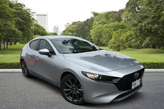 2019 Mazda 3 BP2HLA G25 SKYACTIV-Drive Evolve Sonic Silver 6 Speed Sports Automatic Hatchback.