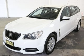 2016 Holden Commodore VF II MY16 Evoke Sportwagon White 6 Speed Sports Automatic Wagon