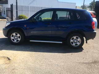 2001 Toyota RAV4 ACA21R Edge Blue 5 Speed Manual Wagon