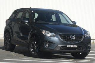 2012 Mazda CX-5 KE1021 Grand Touring SKYACTIV-Drive AWD Grey 6 Speed Sports Automatic Wagon.