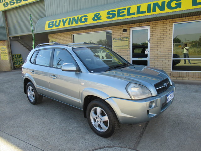 Used Hyundai Tucson JM City Mandurah, 2006 Hyundai Tucson JM City Silver 4 Speed Automatic Wagon