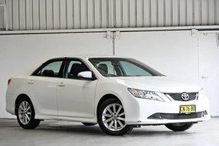 2017 Toyota Aurion GSV50R AT-X White 6 Speed Sports Automatic Sedan.