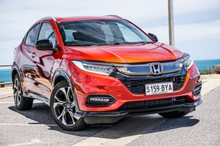 2018 Honda HR-V MY18 RS Red 1 Speed Constant Variable Hatchback.