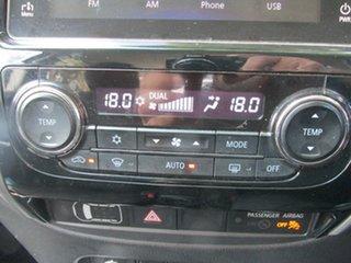 2017 Mitsubishi Triton MQ MY17 GLS Double Cab White 5 Speed Sports Automatic Utility