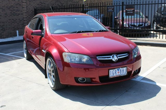Used Holden Berlina VE MY08 Dual Fuel Hoppers Crossing, 2008 Holden Berlina VE MY08 Dual Fuel Red 4 Speed Automatic Sedan