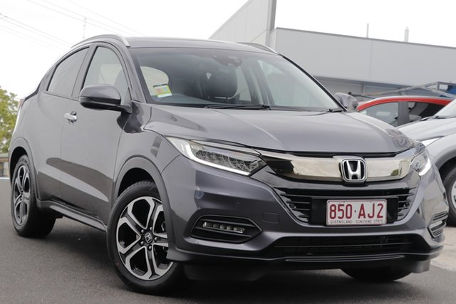 Demo Honda HR-V MY21 VTi-LX Indooroopilly, 2020 Honda HR-V MY21 VTi-LX Modern Steel 1 Speed Constant Variable Hatchback