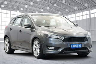 2015 Ford Focus LZ Titanium Silver 6 Speed Automatic Hatchback.