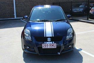 2007 Suzuki Swift EZ Sport Blue 5 Speed Manual Hatchback.