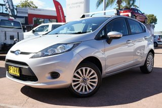 2011 Ford Fiesta WT LX Silver 6 Speed Automatic Hatchback.