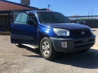 2001 Toyota RAV4 ACA21R Edge Blue 5 Speed Manual Wagon.