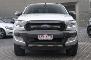2018 Ford Ranger PX MkIII 2019.00MY Wildtrak Silver 6 Speed Sports Automatic Utility