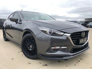 2018 Mazda 3 BN5438 SP25 SKYACTIV-Drive Astina Machine Grey 6 Speed Sports Automatic Hatchback.