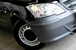 2013 Mercedes-Benz Vito 639 MY11 113CDI Crew Cab Black 5 Speed Automatic Van.