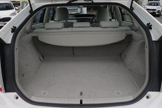 2011 Toyota Prius ZVW30R White 1 Speed Constant Variable Liftback Hybrid