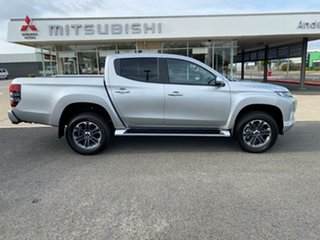 2020 Mitsubishi Triton MR MY21 GLX-R Double Cab Sterling Silver 6 Speed Sports Automatic Utility