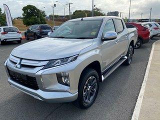 2020 Mitsubishi Triton MR MY21 GLX-R Double Cab Sterling Silver 6 Speed Sports Automatic Utility
