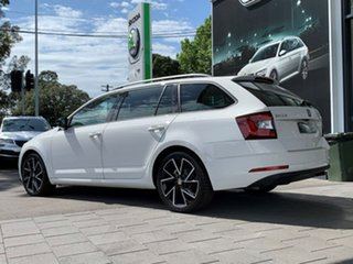 2019 Skoda Octavia NE MY19 Sport DSG 110TSI White 7 Speed Sports Automatic Dual Clutch Wagon