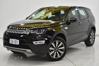 2017 Land Rover Discovery Sport L550 18MY TD4 HSE Luxury Black 9 Speed Sports Automatic Wagon.