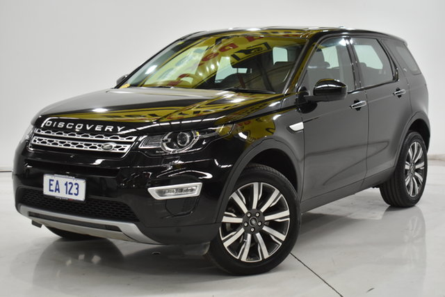 Used Land Rover Discovery Sport L550 18MY TD4 HSE Luxury Brooklyn, 2017 Land Rover Discovery Sport L550 18MY TD4 HSE Luxury Black 9 Speed Sports Automatic Wagon