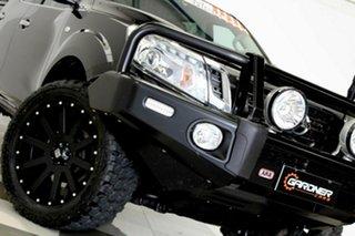2017 Nissan Navara D23 Series II ST (4x4) Black 7 Speed Automatic Dual Cab Utility.