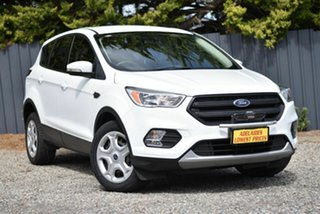 2016 Ford Escape ZG Ambiente White 6 Speed Sports Automatic SUV.