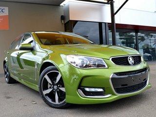 2015 Holden Commodore VF II MY16 SV6 Jungle Green 6 Speed Sports Automatic Sedan.