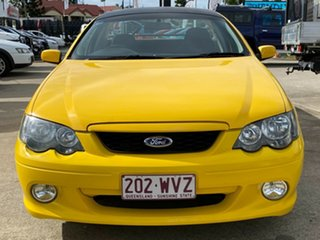2005 Ford Falcon BA Mk II XR6 Ute Super Cab Yellow 4 Speed Sports Automatic Utility