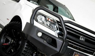 2017 Holden Colorado RG MY17 LS (4x4) White 6 Speed Automatic Crew Cab Pickup.