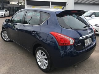 2016 Nissan Pulsar C12 Series 2 ST-L Blue 1 Speed Constant Variable Hatchback