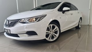 2017 Holden Astra BL MY17 LTZ White 6 Speed Sports Automatic Sedan.