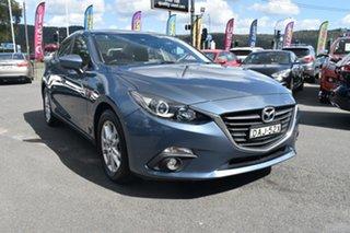 2015 Mazda 3 BM5278 Maxx SKYACTIV-Drive Blue 6 Speed Sports Automatic Sedan