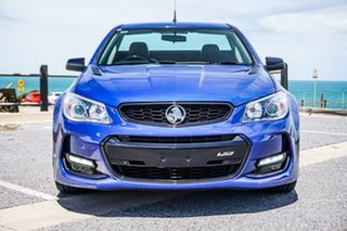 2016 Holden Ute VF II MY16 SS Ute Black Blue 6 Speed Sports Automatic Utility