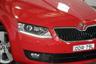 2015 Skoda Octavia NE MY15.5 Ambition Plus DSG 103TSI Red 7 Speed Sports Automatic Dual Clutch Wagon.