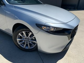 2020 Mazda 3 BP2H7A G20 SKYACTIV-Drive Pure Sonic Silver 6 Speed Sports Automatic Hatchback.